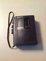 SONY  Tape Recorder Player Speaker Voice Operated Recorder