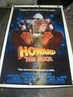 HOWARD THE DUCK(TRES RARE)AFFICHE DE COLLECTION