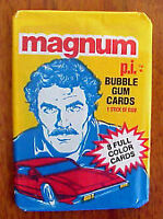 Magnum P.I. wax pack never opened