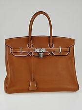Hermes Gold Birkin Bag