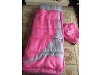 Junior ready bed pink/grey