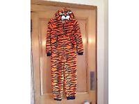 M&S Tiger Fleece All In One Suit /Onesie