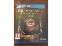 SWAP Resident Evil Revelations 2 PS4 2p couch Cooperative