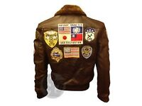 Top Gun Jacket (leather) size L