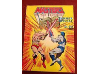 HEMAN SUMMER SPECIAL MAGAZINE AS SHOWN IN VERY GOOD CONDITION