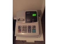 Sharpe cash register XEA102 and till rolls