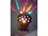 1 x DJ Retro Disco Light with brackets