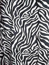 Zebra Print Shower Curtains