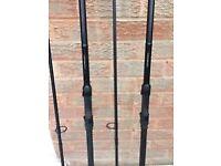 2 x Daiwa Longbow DF Rods (3lb Test Curve)