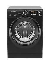 Ultima S-Line RPD9467JKK 9kg Load, 1400 Spin Washing Machine - Black