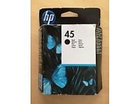 HP 45 inkjet cartridge - LE11, will post.