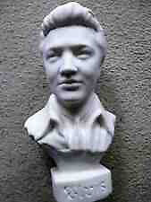Elvis Bust is solid 8'' high A Wonderful Collectable BARGAIN £10 can deliver local to ox3
