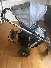 Uppababy travel system with peg perego carseat