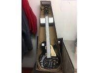 BRAND NEW Jack Daniels New Vintage V100 BLK V100BLK Black Gloss Electric Guitar