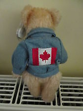 Logan the Canada Bear Ty Attic Treasure with jacket Kitchener / Waterloo Kitchener Area image 2