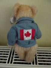 Logan the Canada Bear Ty Attic Treasure with jacket Kitchener / Waterloo Kitchener Area image 2