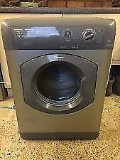 76 Hotpoint TVM562 6kg Silver Sensor Drying Vented Tumble Dryer 1 YEAR GUARANTEE FREE DELIVERY
