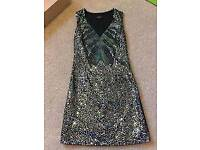 Firetrap Sequin Black Dress size XS New with tag