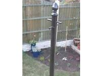 Wanted cast iron washing/clothes line pole