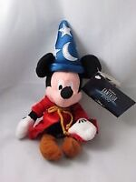 "Disney SORCERER MICKEY MOUSE ""Fantasia 2000"" Mini Bean Bag Plush"