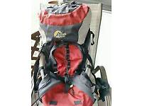 Lowe Alpine Sirocco 1, 70+15l rucksack.