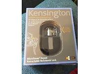 Kensington keyed Notebook lock