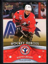 Wayne Gretzky Hockey Heroes Card Upper Deck