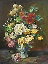 Oil Painting Flowers Ebay