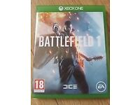 Used Battlefield 1 for X-Box One, perfect condition. Collection only