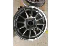 "Team dynamics pro race 1.2 17"" inch alloy wheels"