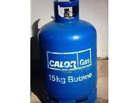 Empty 15kg calor gas butane bottle