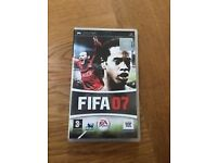 Fifa 07 (Sony PSP Video Game, 2007)