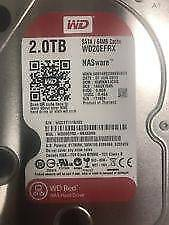 Western Digital Caviar Red 2TB SATA 6Gb/s 64MB Cache WD20EFRX HDD