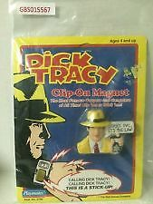 Dick Tracy Clip on Magnet 1990 Imperial Toy Disney Edmonton Edmonton Area image 1