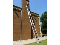 Trade master 3 section ladders