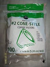 Coffee Filters #2 natural from publix