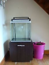 FLUVAL OSAKA 155 FISH TANK MARINE OR TROPICAL WITH LOADS OF EXTRAS