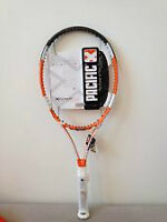 PACIFIC X-FORCE LITE TENNIS RACQUET , 4 1/4 , STRUNG ,USED
