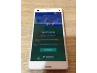 SONY XPERIA Z3 MINI D5803 16GB IN WHITE **FACTORY UNLOCKED**