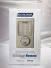 Schlage Sense Smart Deadbolt lock on sale for 150$ only