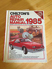 Just Lowered the price 1985 Chilton's Auto Repair Book Windsor Region Ontario image 1