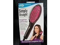 jml simply straight straightening brush