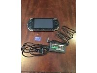 Sony Playstation PSP - Black - with games