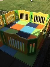 Baby Vivo playpen with extention pack