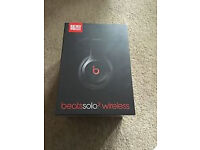 Beats Solo 2 Wireless Headphones Black Brand new with receipt beats By Dre