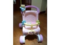Fisher price musical pushchair walker