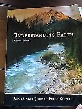 Understanding Earth 5th edition very good condition collection only
