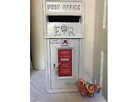 Wedding Centrepieces Royal Mail Post Box Candy Cart LOVE Letters Chair Covers and Sashes