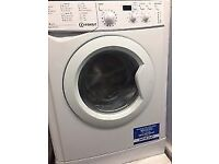 7KG INDESIT WASHING MACHINE & DRYER, EXCELLENT CONDITION, 4 MONTHS WARRANTY