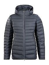 BNWT BERGHAUS WOMENS HUDSONIAN LONG PADDED COAT JACKET GREY UK 18 RRP £180